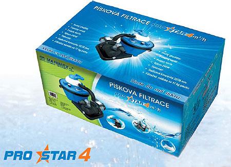 Písková filtrace Prostar 4 krabice
